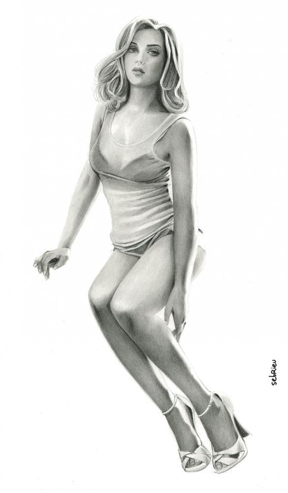 Scarlett Johansson by sebrieu